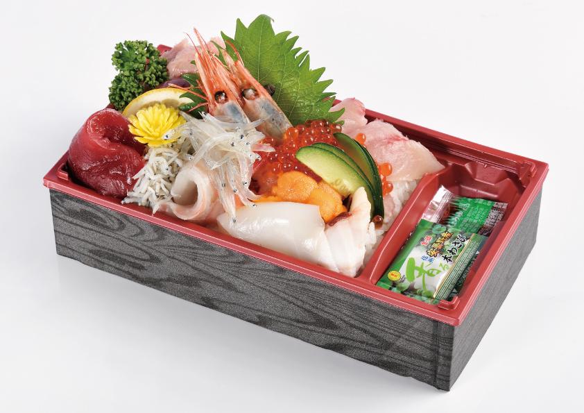 魚やの海鮮丼